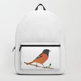 Baltimore Oriole Bird Backpack