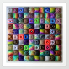 Patchwork of Joy Art Print