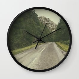 A Road in the Wilderness II Wall Clock