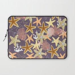 Starfish Bling Diamond in the Sea Laptop Sleeve