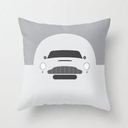Minimal Aston Martin DB5 Throw Pillow