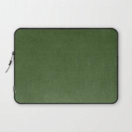 Sage Green Velvet texture Laptop Sleeve