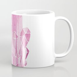Rose Quartz Watercolor Coffee Mug