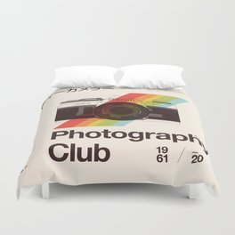 Photography Club Duvet Cover