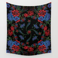 russian Wall Tapestries featuring Russian Style by Eduardo Doreni