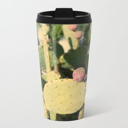 Prickly Pear Metal Travel Mug