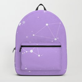 Pastel Purple Night Sky Backpack