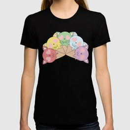 Kitty Ice Cream Rainbow T-shirt
