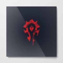 For the Horde Metal Print