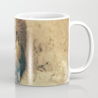otter Mugs featuring Cute Otter by Pati Designs & Photography