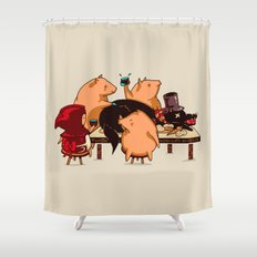 Dinner With Friends Shower Curtain