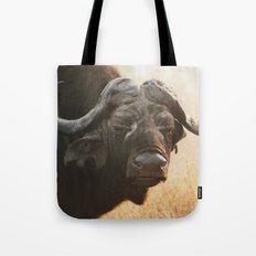 Grandpa Cape Buffalo  Tote Bag