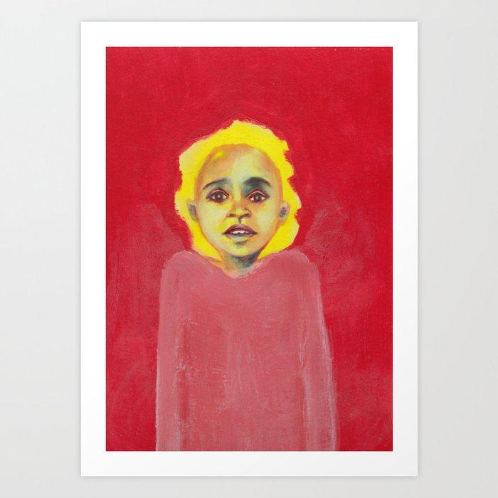 Les petites filles I.41 Art Print