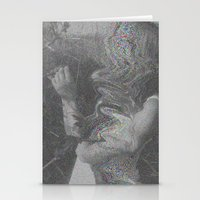 glitch Stationery Cards featuring Glitch by Amélie Haeck