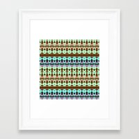 oasis Framed Art Prints featuring Oasis by Ornaart