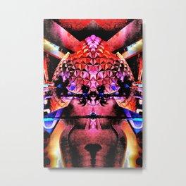 Epcot Fly's Eye Metal Print