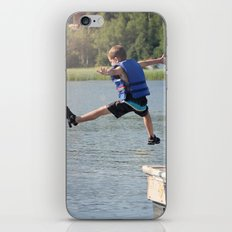 Harry Leaps! iPhone & iPod Skin