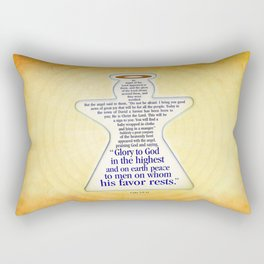 Christmas Angel Rectangular Pillow