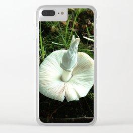 Mushroom G Clear iPhone Case