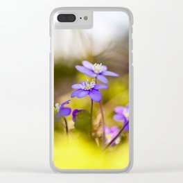 Wildflowers Spring Forest #decor #society6 #buyart Clear iPhone Case