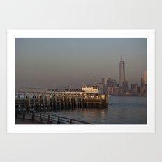 New York Skyline 1 Art Print