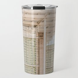 All in Shades of White -  Chicago Architecture Photography Travel Mug