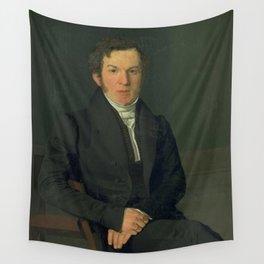 Christen Købke - Portrait of the Artist´s Cousin, Michael Christian Petersen Wall Tapestry
