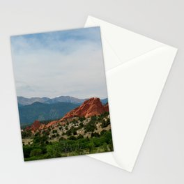 Garden of the Gods in Colorado Springs Stationery Cards