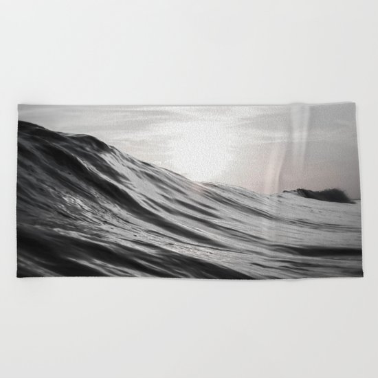 Motion of Water Beach Towel
