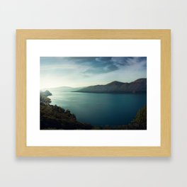 Waterscape IV Framed Art Print