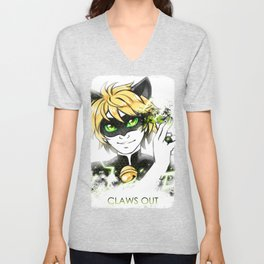 Claws Out! Unisex V-Neck