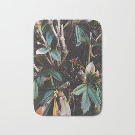 Aesthetic Leaves Bath Mat