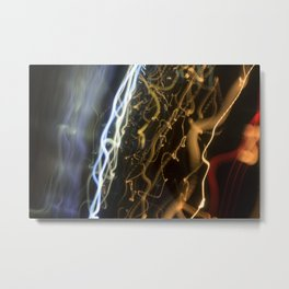 Fizzy Light Abstract Metal Print