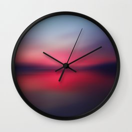 Abstract Landscape 27 Wall Clock