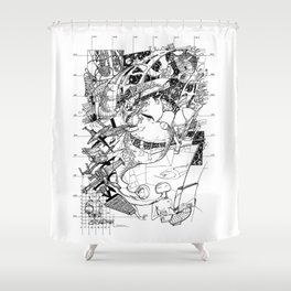 Graphics 017 Shower Curtain