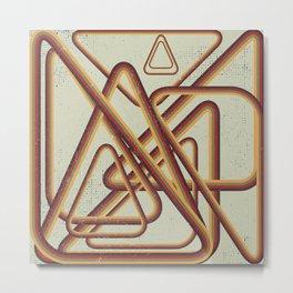 Tangled Metal Print