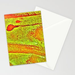 Bloody-Nature Abstract Stationery Cards