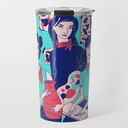 Women Artists (Creative Outlaws) Travel Mug