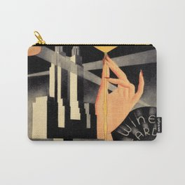 Waldorf Astoria Hotel NYC The Starlight Roof, Champagne Wine Card Vintage Poster Carry-All Pouch