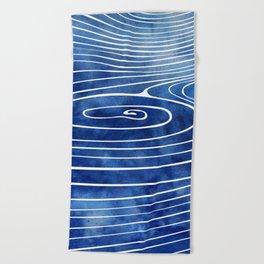 Tide XVII Beach Towel