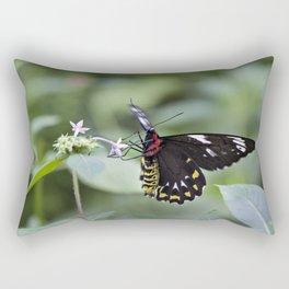Female Birdwing Butterfly Rectangular Pillow