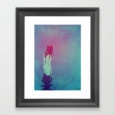 Skinny Dipping Framed Art Print