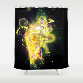 Golden Frieza Shower Curtain