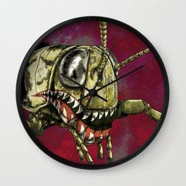 War Paint Wall Clock