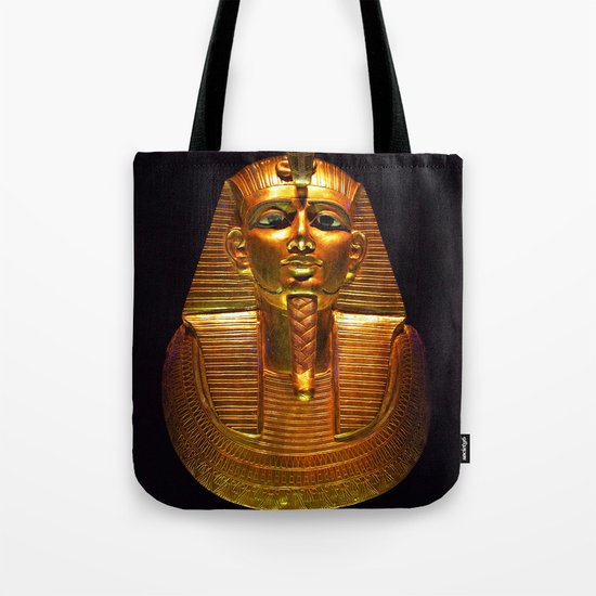 Psusennes funerary mask Tote Bag