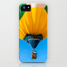 Brazil balloon iPhone Case