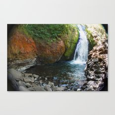 Bridal Veil Falls OR Canvas Print