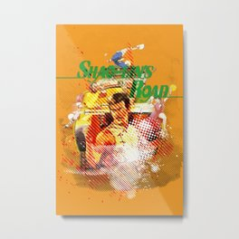 Shao-lins Road Metal Print