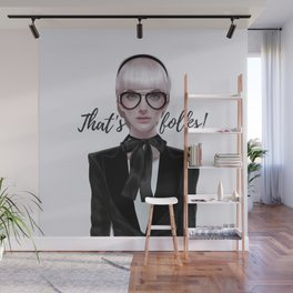 That's__folks! Wall Mural