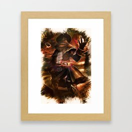 League of Legends HIGH NOON TWISTED FATE Framed Art Print